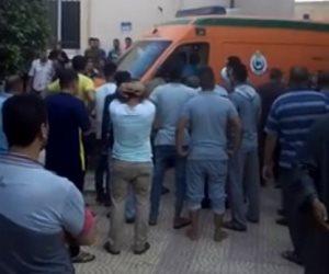 سائق نقل متهور يطيح بحياة طفل ويحول جسده لأشلاء أمام نادي المرج