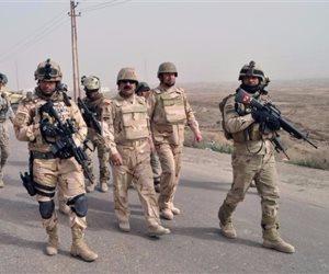 القوات العراقية تحبط محاولة تسلل لعناصر من داعش في طريق بغداد _ الموصل