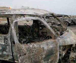 انفجار سيارة مفخخة بمدينة دير الزور السورية يوقع عشرات القتلى والمصابين