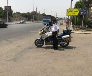 ضبط 300 دراجة نارية مخالفة ورفع 22 سيارة متروكة بالشوارع