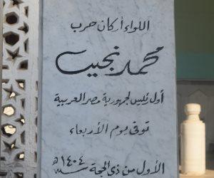 «صوت الأمة» أمام ضريح محمد نجيب.. النسيان يملأ أرجاء المكان (فيديو)