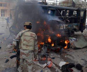 مقتل 3 مدنيين فى انفجار لغم أرضى ببنغازي