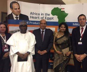 رئيس العربية للتصنيع يلتقي وزير التجارة وقائد القوات الجوية النيجيرية
