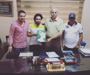 أحمد صبرى يفسخ عقده مع الإنتاج الحربي بالتراضي