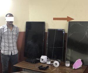 أمن بورسعيد يكشف لغز سرقات الشقق السكنية.. ويضبط المتهم