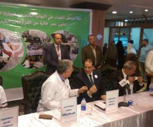 محافظ الدقهلية مرضى أوروبا الشرقية يطلبون علاج فيروس سي في مصر