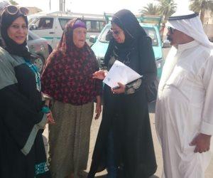 انتهاء فعاليات المرحلة الأولى لحملة طرق الأبواب بجنوب سيناء