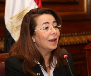 غادة والي تعرض التجربة المصرية في استضافة اللاجئين  خلال منتدى شباب العالم