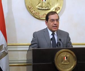 """وزير البترول يكشف موعد بدء إنتاج حقلي """"جيزة وفيوم"""" من الغاز"""