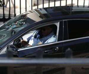 رونالدو يدخل من الباب الخلفى لمحكمة «بوزويلو دي ألاركون»