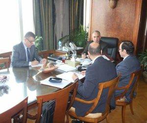 وزير الرى يبحث التعاون الثنائي بين الوزارة وقطاع التخطيط