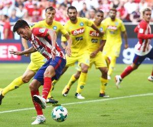 أتليتكو مدريد يفوز على نابولي 2 / 1 بكأس أودي (صور وفيديو)