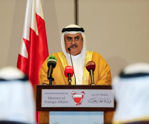 أميرها لم يحضر قمة الرياض.. وزير خارجية البحرين يفضح تناقضات قطر بشأن دعوتها للحوار