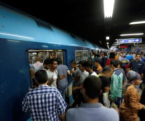 المترو يوضح حقيقة سير قطار وأبوابه مفتوحة من محطة غمرة حتى الدمرداش
