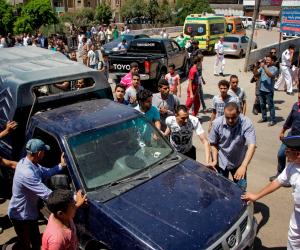 """مشاجرة بين تاجر و5 أشخاص بسبب """"معاكسة"""" فتاة بالبدرشين"""