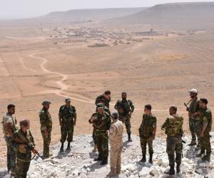 المرصد السورى : القوات النظامية تتقدم فى جرود القلمون على الحدود السورية مع لبنان