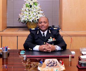 مدير أمن الغربية يتفقد قوات أمن المحلة والمراكز والأقسام الشرطية (صور)