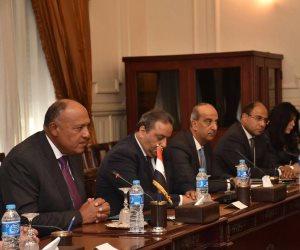 «مكافحة الإرهاب» محور المباحثات الثنائية بين وزراء خارجية مصر و الجزائر