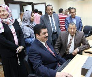رئيس جامعة بنى سويف: إجراء تحاليل فيرس سي على 1000 طالبا جديدا