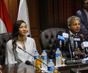 بعد حصد فريدة عثمان لقب الأفضل فى إفريقيا.. وزير الشباب: 2017 عام الرياضة المصرية