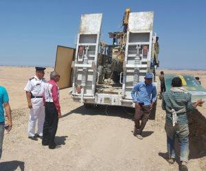 إزالة تعديات 24 ألف فدان بالغردقة بعد استيلاء شركة إصلاح زراعي عليها