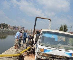 مساعد محافظ كفر الشيخ يتابع وحدة معالجة المياه وكورنيش ميت يزيد (صور)