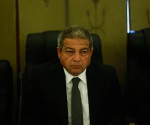 رئيس الاتحاد العربي يهنئ خالد عبد العزيز بمناسبة الصعود للمونديال