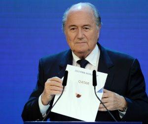 بلاتر يرشح 4 دول لاستضافة مونديال 2022 بدلا من قطر