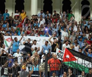 جماهير الفيصلي الأردني تهاجم الأهلي في مباراة الزمالك