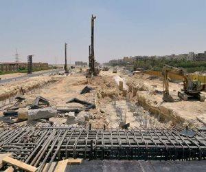 تحويلات مرورية بسبب إنشاء كوبري بطريق الفيوم الصحراوي