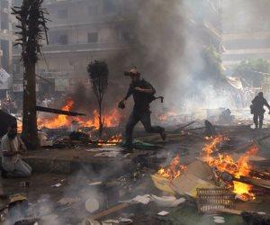 حتى لا ننسى.. هذه المشاهد توثق إرهاب الإخوان في رابعة العدوية