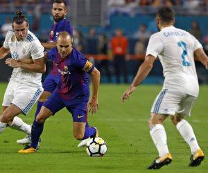 كلاسيكو الأرض.. هل يفسد ريال مدريد فرحة التتويج بالدورى على برشلونة ؟
