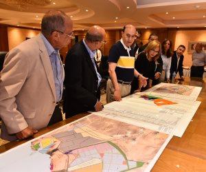 الفريق مُهاب مميش يستقبل وفداً من بنك قناة السويس لاستعراض المشروعات التنموية (صور)