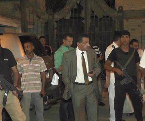 مدير أمن الإسماعيلية ومدير المباحث في جولة تفقدية بطريق البلاجات (صور)