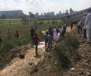 النيابة الإدارية تفتح تحقيقاً عاجلاً في حادث قطاري الإسكندرية ( صور )