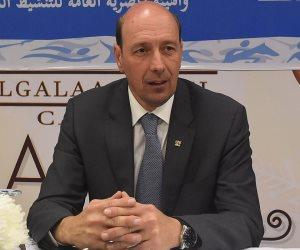 شريف العريان ممثلا عن اللجنة الأولمبية فى انتخابات التنس