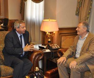 مفوض الأولمبية الدولية يصل القاهرة لأنهاء أزمة الزمالك