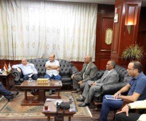 محافظ الأقصر يلتقي رئيس «الجمارك» للإعداد للمؤتمر الدولي في ديسمبر