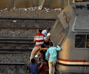 قطار يدهس طالبا بالثانوية العامة في المنيا