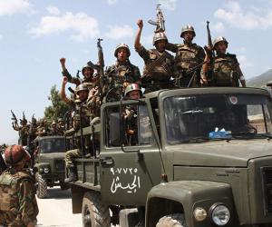الجيش السوري يسيطر على قرية حويجة من داعش