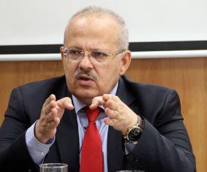 الخشت: قرارات فصل منتمى الجماعات الإرهابية من جامعة القاهرة جاءت وفقا للقانون