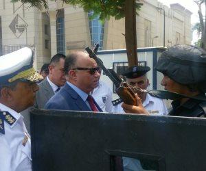 مدير أمن القاهرة يتفقد الخدمات الأمنية للتأكد من جاهزيتها
