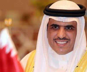 وزير الإعلام البحريني: من يتآمر على مصر يستهدف الأمن القومي العربي