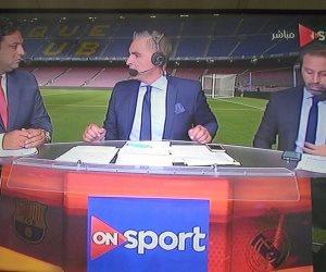 10 نجوم كرة سابقين يحللون مباراة مصر و الكونغو على on sport.. تعرف عليهم