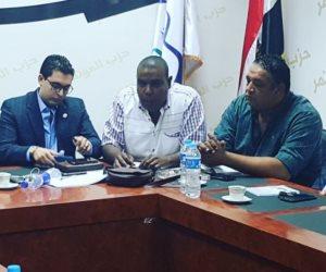 شباب الأحزاب المصرية يلتقون برئيس اتحاد الطلاب الأفارقة وأمين عام الجمعية