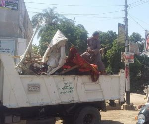 تحرير 130 محضر إشغالات في حملة بالبلينا