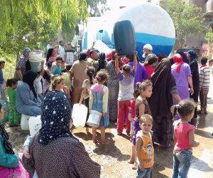 انقطاع مياه الشرب عن بعض مناطق بالجيزة منذ 5 أيام.. والمحافظة جاري اتخاذ اللازم