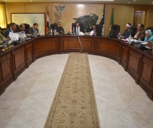 تنفيذي الفيوم يقرر تشكيل «لجنة مسميات» ويوجه بوضع خطة زمنية لمحو الأمية