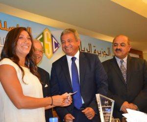 وزير الرياضة يشهد حفل تكريم فريدة عثمان في نادى الجزيرة