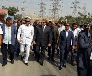 الأمن العام يداهم حدايق الأهرام لضبط الخارجين عن القانون .. (صور)
